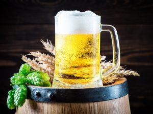 Getreide bei der Bierherstellung